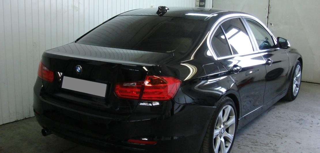BMW 3 F30 | Folia GLOBAL GP Premium | Tył 5% przepuszczalności światła