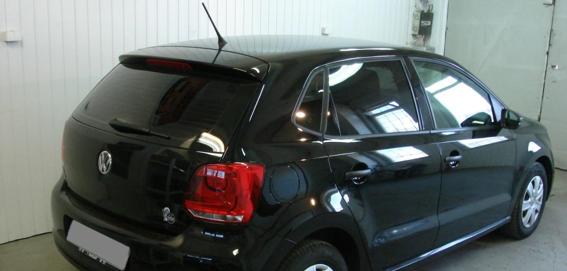 VW Polo | Folia GLOBAL GP Premium | Tył 20% przepuszczalności światła