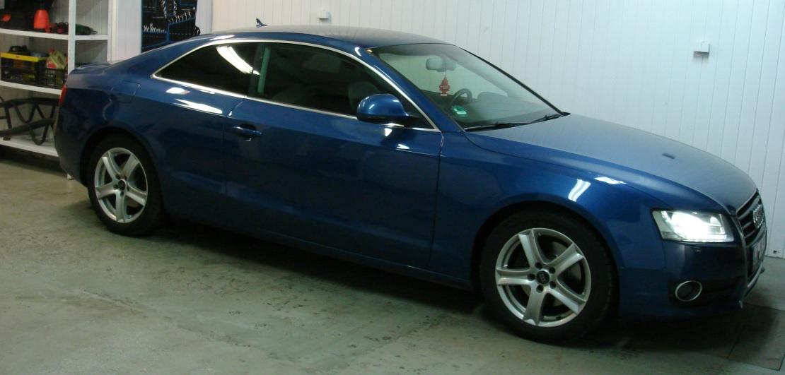 Audi A5_Coupe | Folia GLOBAL GP Premium | Tył 5% przepuszczalności światła