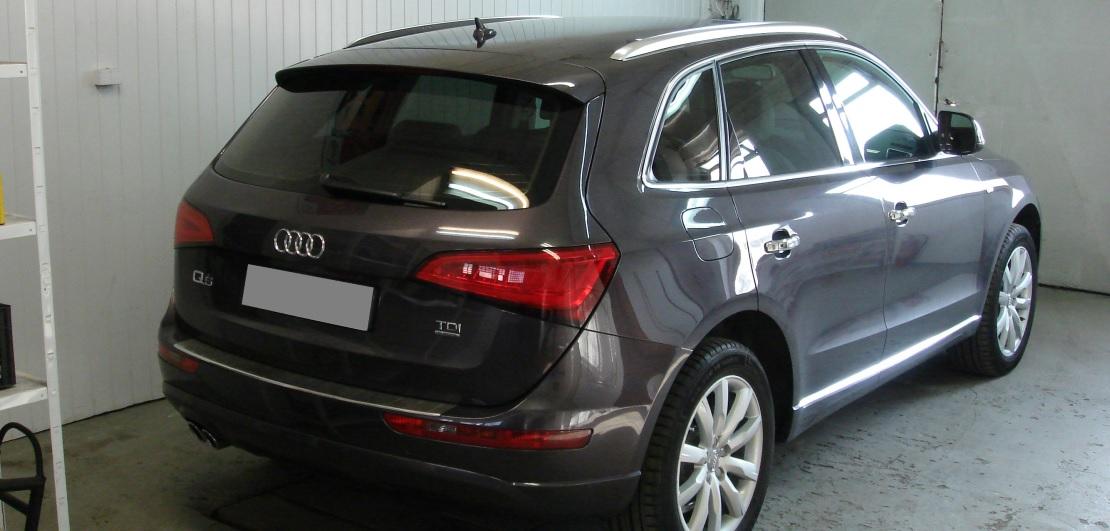 Audi Q5 | Folia GLOBAL GP Premium | Tył 30% przepuszczalności światła