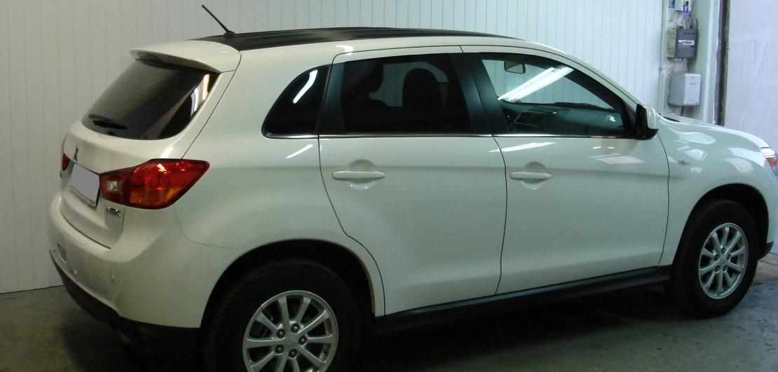 Mitsubishi ASX | Folia GLOBAL GP Premium | Tył 20% przepuszczalności światła