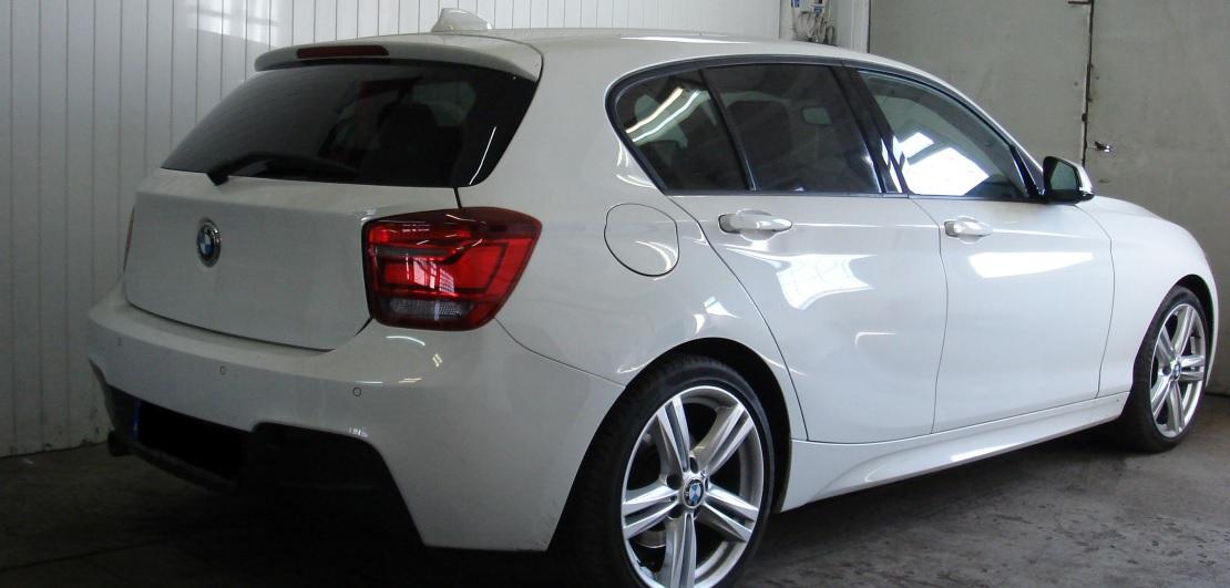 BMW 1_F20 | Folia GLOBAL GP Premium | Tył 30% przepuszczalności światła